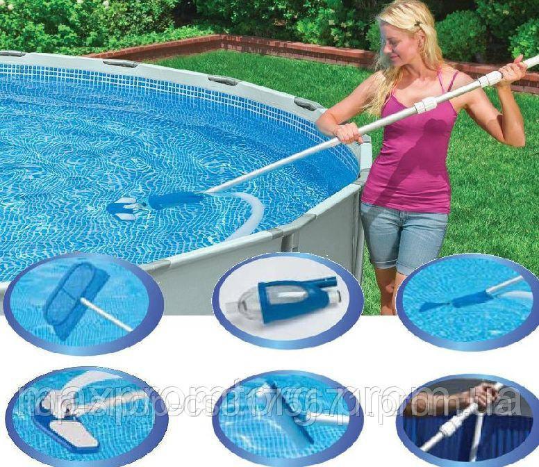Комплект для чистки бассейна Intex 28003  58959 новый