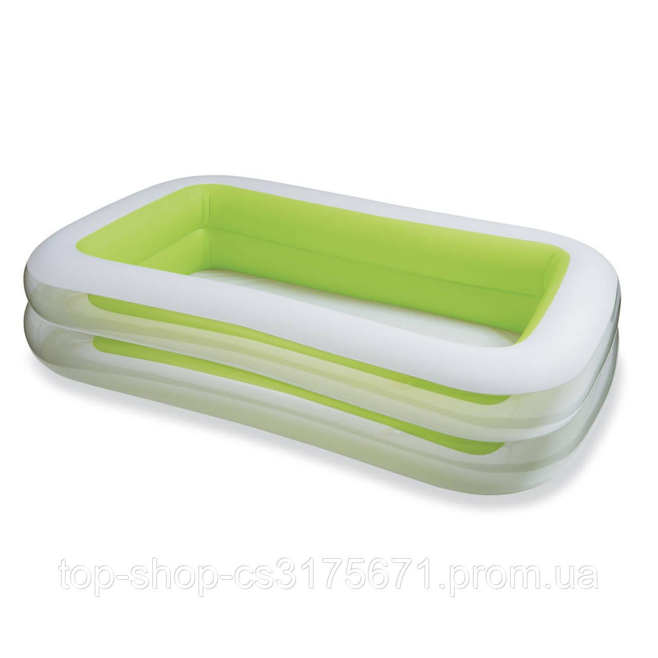 Детский надувной бассейн INTEX 56483 Морская волна