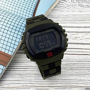 Часы мужские электронные Skmei 1304 Black-Green AB-1080-0096