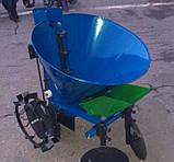 Картофелесажалка с бункером для удобрений  К-1ЦУ (синяя), фото 4