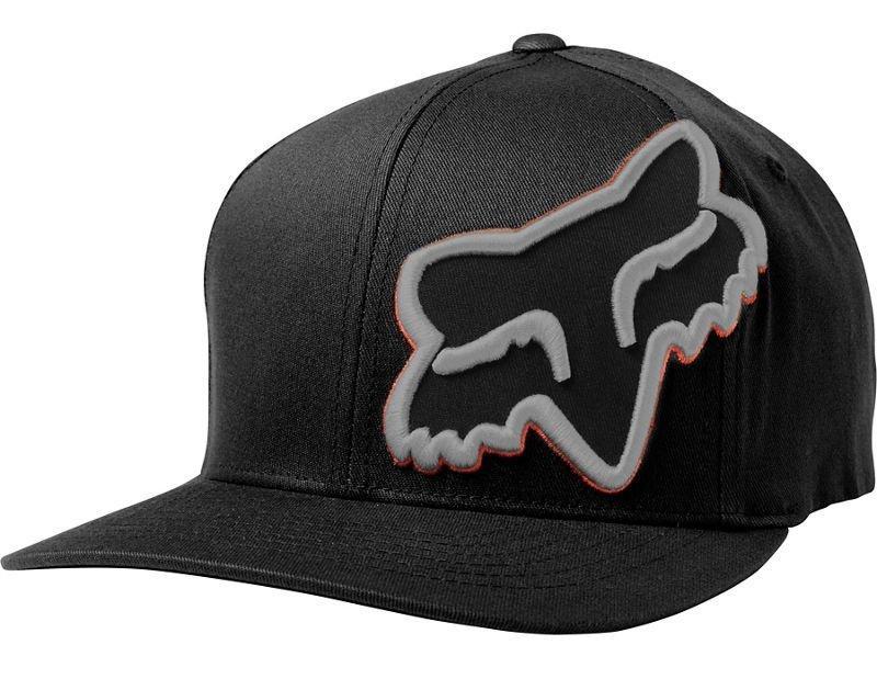Кепка FOX EPISCOPE FLEXFIT HAT [BLACK], S/M