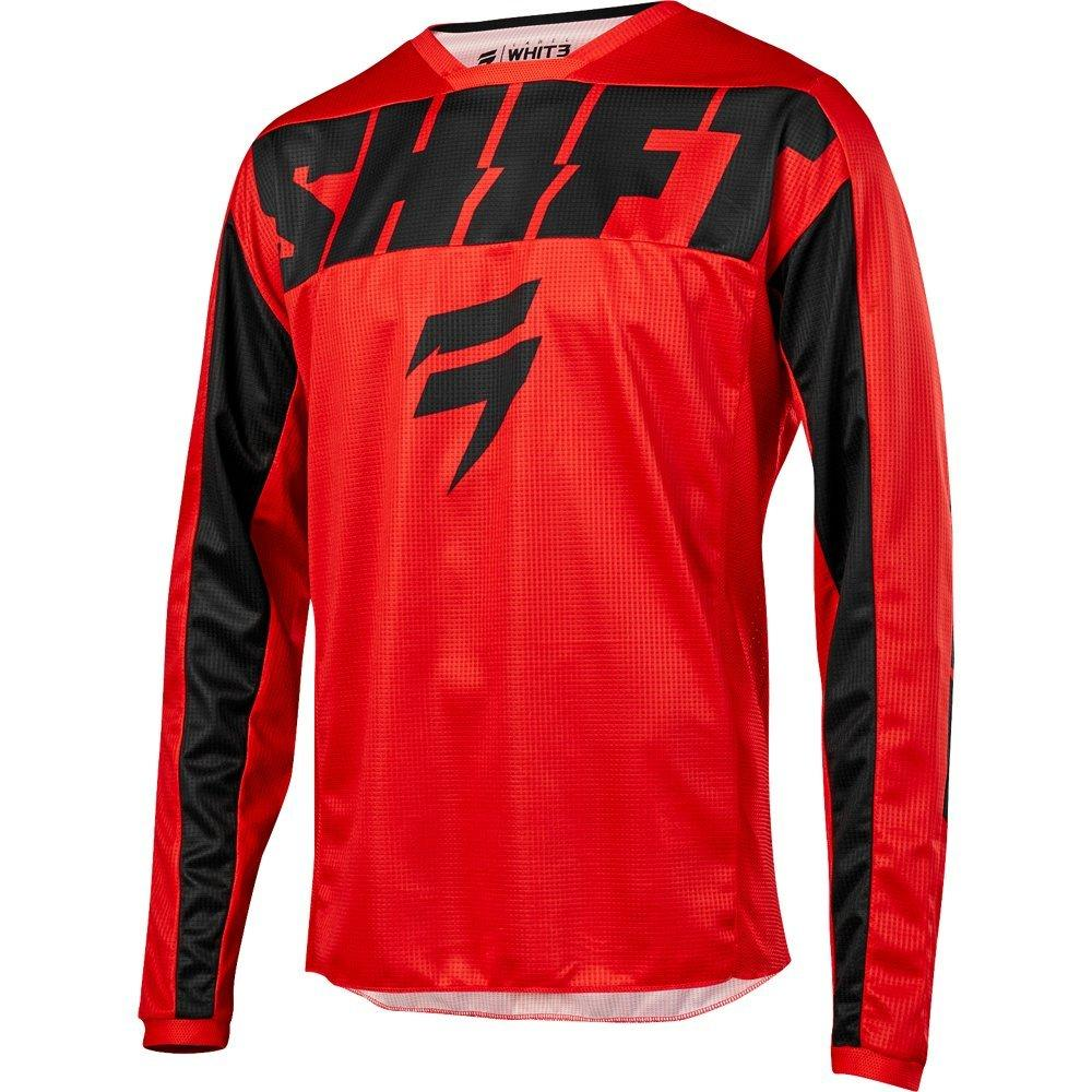 Мото джерси SHIFT WHIT3 YORK JERSEY [RED], XL
