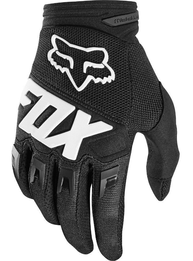 Детские мото перчатки FOX YTH DIRTPAW RACE GLOVE [Black], YXXS (3)
