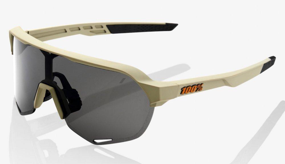 Велосипедные очки Ride 100% S2 - Soft Tact Quicksand - Smoke Lens, Colored Lens