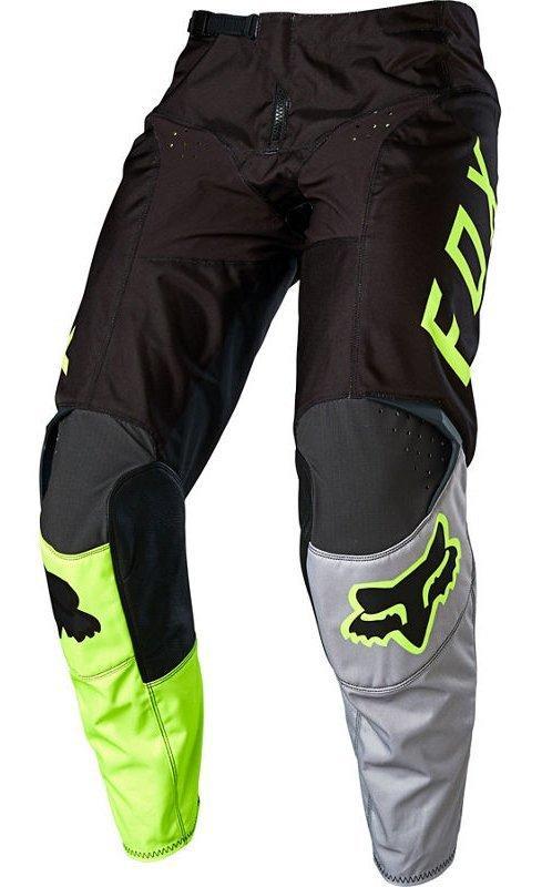 Мото штаны FOX 180 LOVL PANT [BLACK YELLOW], 28