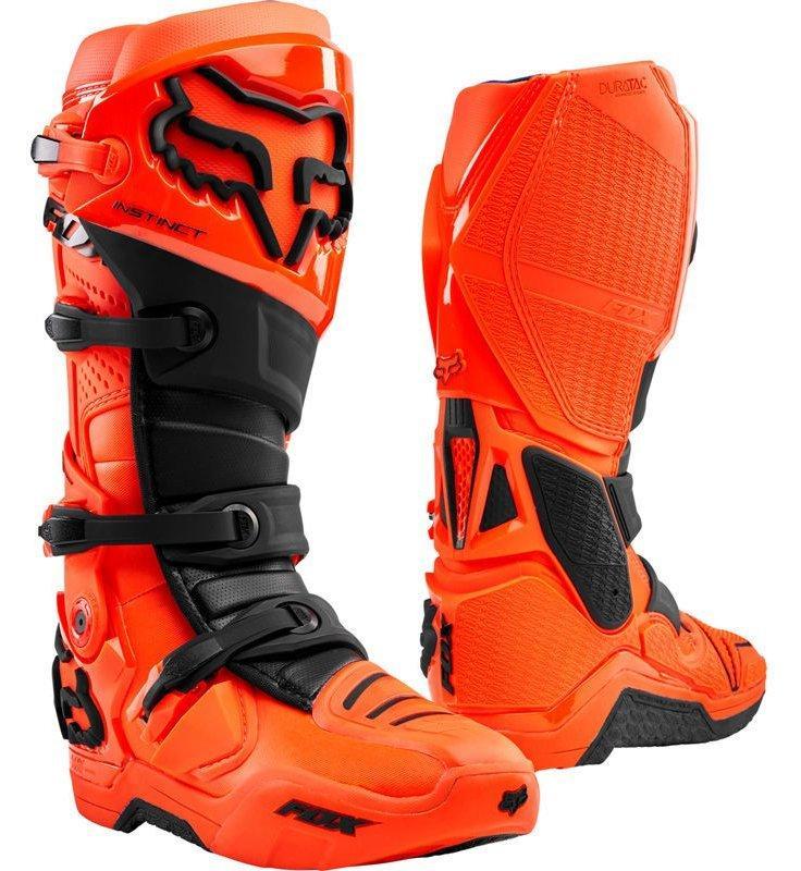 Мотоботы FOX Instinct Boot [FLO ORANGE], 12