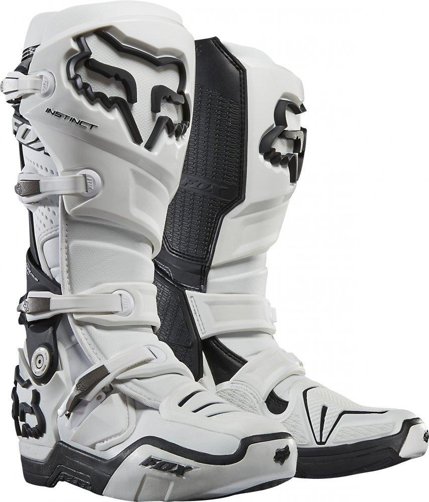 Мотоботы FOX Instinct Boot [WHITE], 12