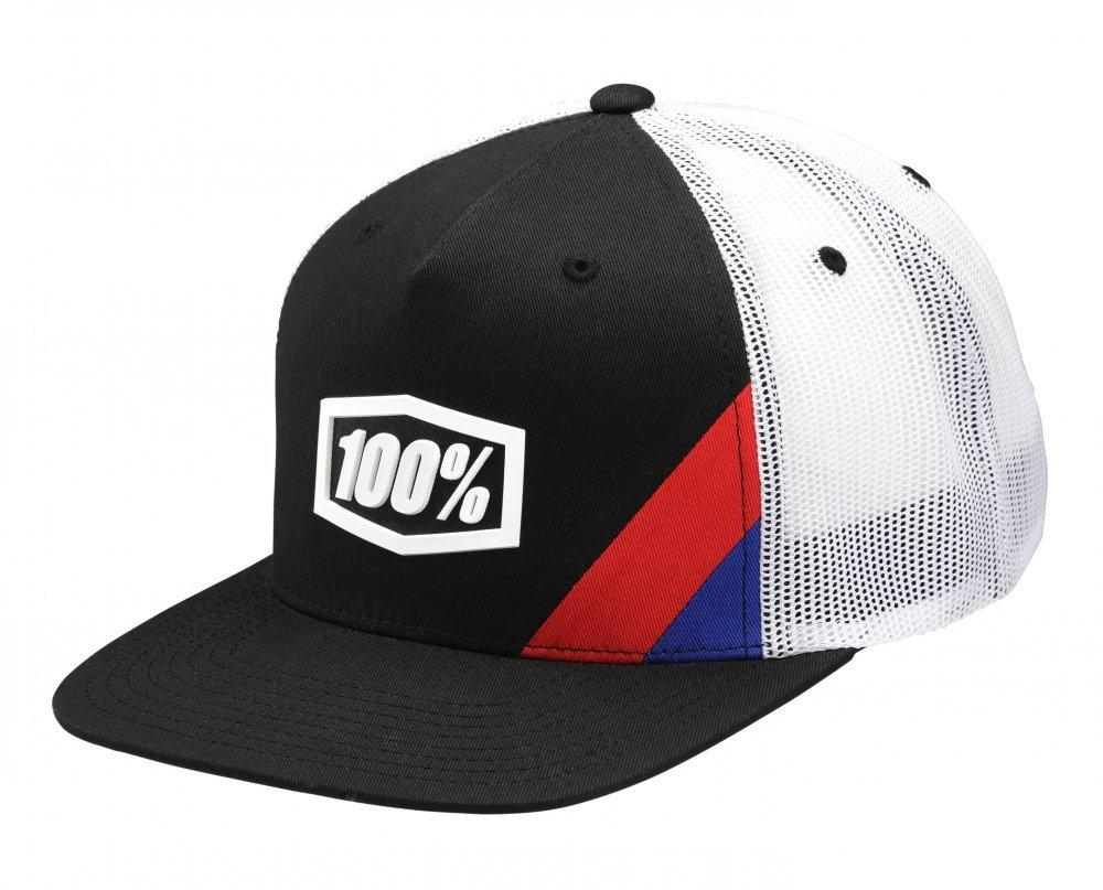 Кепка Ride 100% CORNERSTONE Trucker Hat [Black], One Size