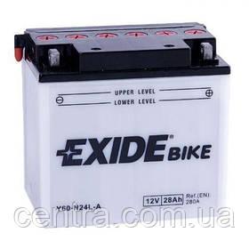 Мото аккумулятор EXIDE E60-N24L-A