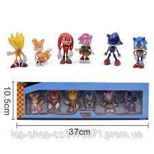 Набор Игрушки-фигурки  Sonic  660822