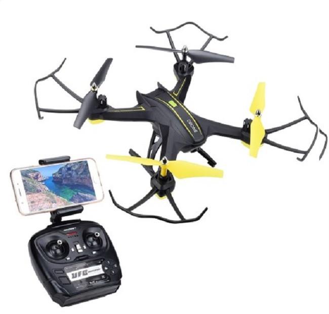 Квадрокоптер Drone S6 с Wi-Fi камерой 720 HD Black