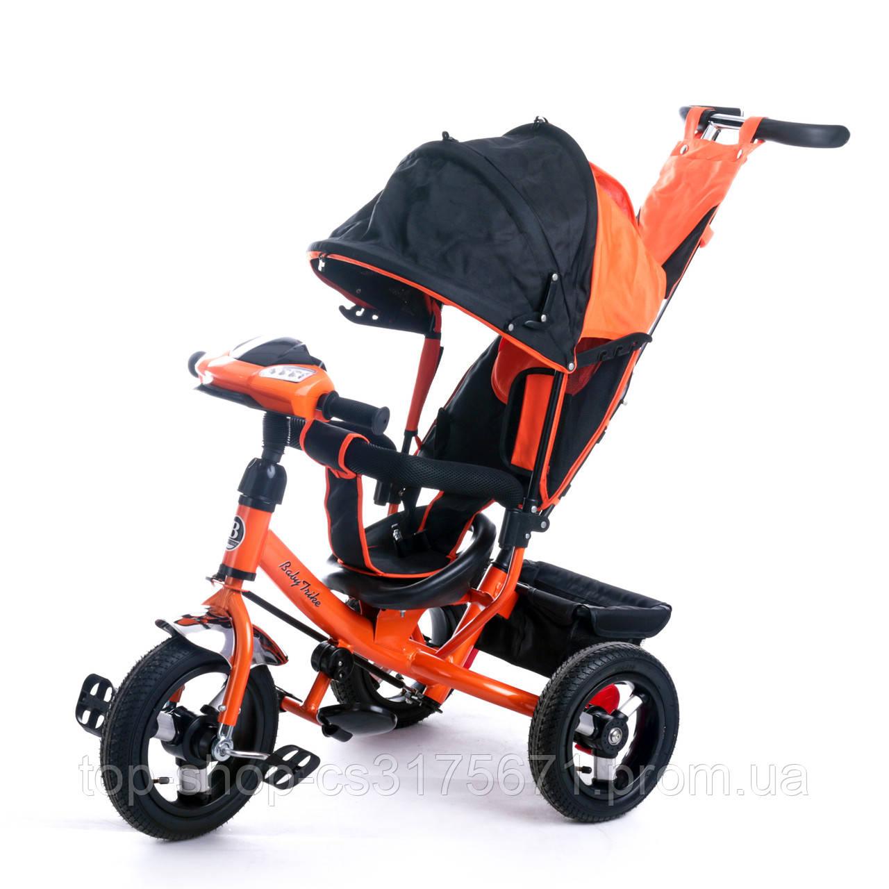 Велосипед трехколесный Baby  Trike 6588O с ключем зажигания