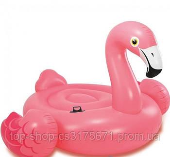 Надувной плот для катания Intex 57288 «Фламинго» 251 х 196 см