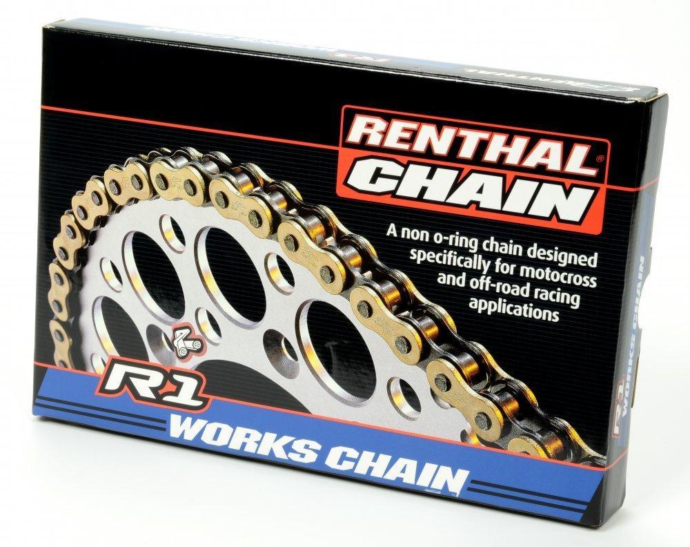 Цепь мото Renthal R1 - MX Works Chain 520-120L