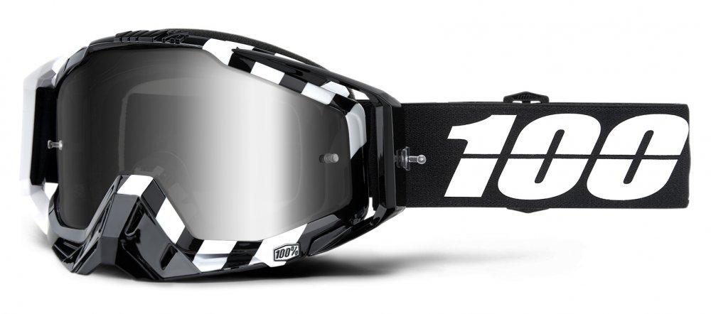 Мото очки 100% RACECRAFT Goggle Alta - Mirror Silver Lens, Mirror Lens