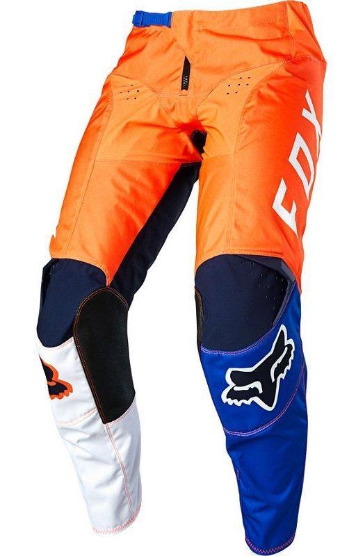 Дитячі мото штани FOX YTH 180 LOVL PANT [ORANGE BLUE], Y 28