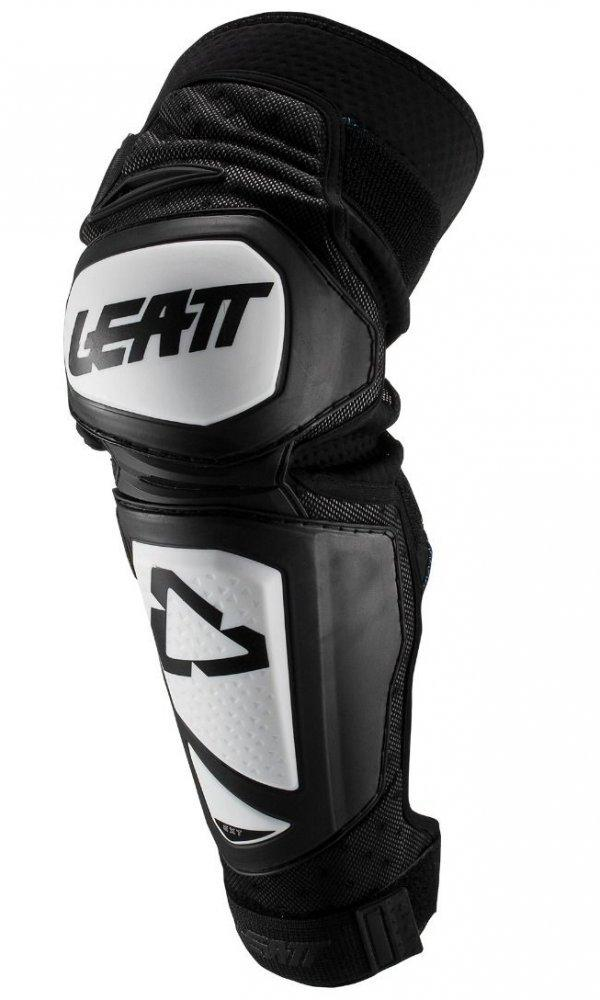 Детские наколенники LEATT Knee Guard EXT Junior [White/Black], One Size