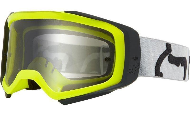 Мото очки FOX AIRSPACE II PRIX GOGGLE [GREY], Clear Lens