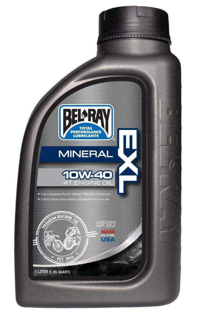 Мото масло моторне Bel-Ray EXL Mineral 4T Engine Oil [1л], 10w-40