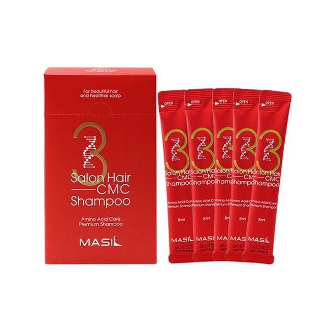 Восстанавливающий шампунь с аминокислотами Masil 3 Salon Hair CMC Shampoo, 10 мл