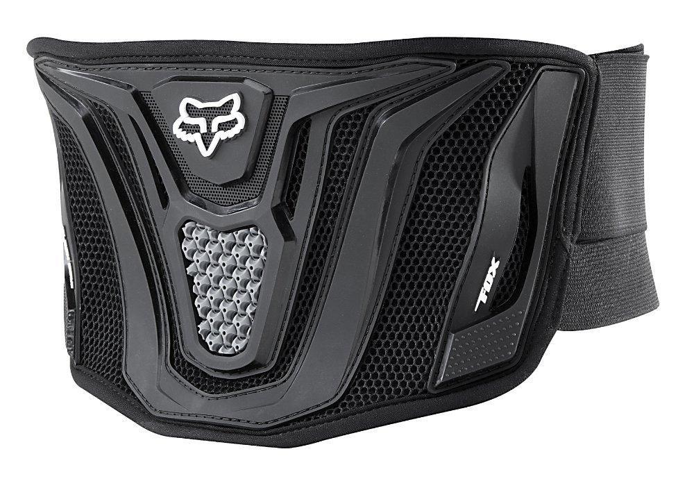 Мотопояс FOX Black Belt [Black/Grey], One Size