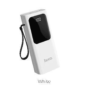 Зовнішній акумулятор Power Bank Hoco J41 10000mAh Original Білий