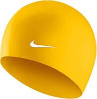 Шапочка для плавання Nike SOLID SILICONE Жовтий