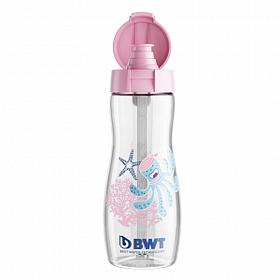 Дитяча пляшка для пиття 375 мл BWT восьминіжка Лола рожева