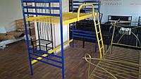Двухъярусная металлическая кровать - чердак ФЛАЙ ДУО ЧЕРДАК 90х190