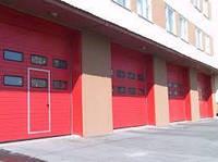 Промышленные ворота Alutech ProTrend с калиткой ш 3000*в3000
