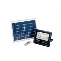 Светодиодный прожектор 40W с солнечной панелью