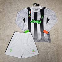 Футбольная форма с длинным рукавом Ювентус/Juventus ( Италия, Серия А ), лимитированная, сезон 2019-2020
