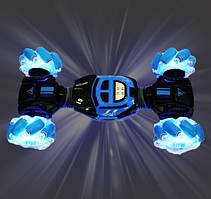 Трюковая Машинка перевёртыш с управлением от руки Rock Torsion Stunt Синяя