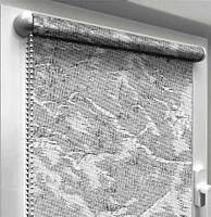 "Тканевые рулонные шторы ""Oasis"" венеция (дымчатый), РАЗМЕР 47,5х170 см, фото 1"