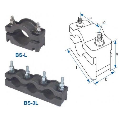 Кабельний хомут BS-3L 3х18-26