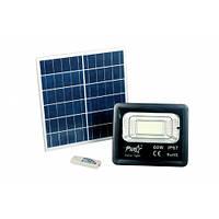 Світлодіодний прожектор 60W з сонячною панеллю
