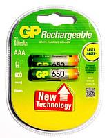 Аккумулятор Gp Rechargeable R03 650 Mah Ni-Mh