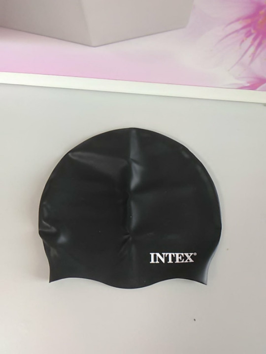 Шапочка для бассейна резиновая intex