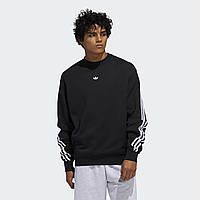 Реглан мужской adidas 3-Stripes Wrap Crew Sweatshirt FM1522 2020