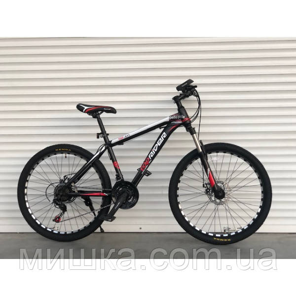 """Велосипед горный TopRider-611 26"""" красный"""