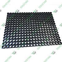 Резиновый придверный коврик СОТЫ 60х80
