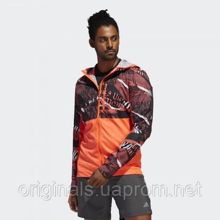 Чоловіча куртка Adidas Own The Run Graphic Jacket FL6988, фото 2