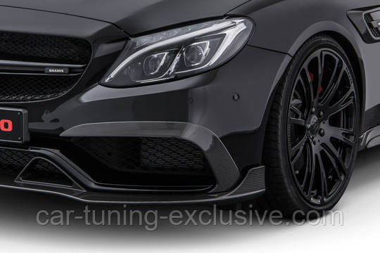 BRABUS front fascia attachments for Mercedes W205