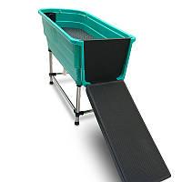 Ванна с рампой для животных 124,5x69,5x90cm Blovi Booster Pet Tub
