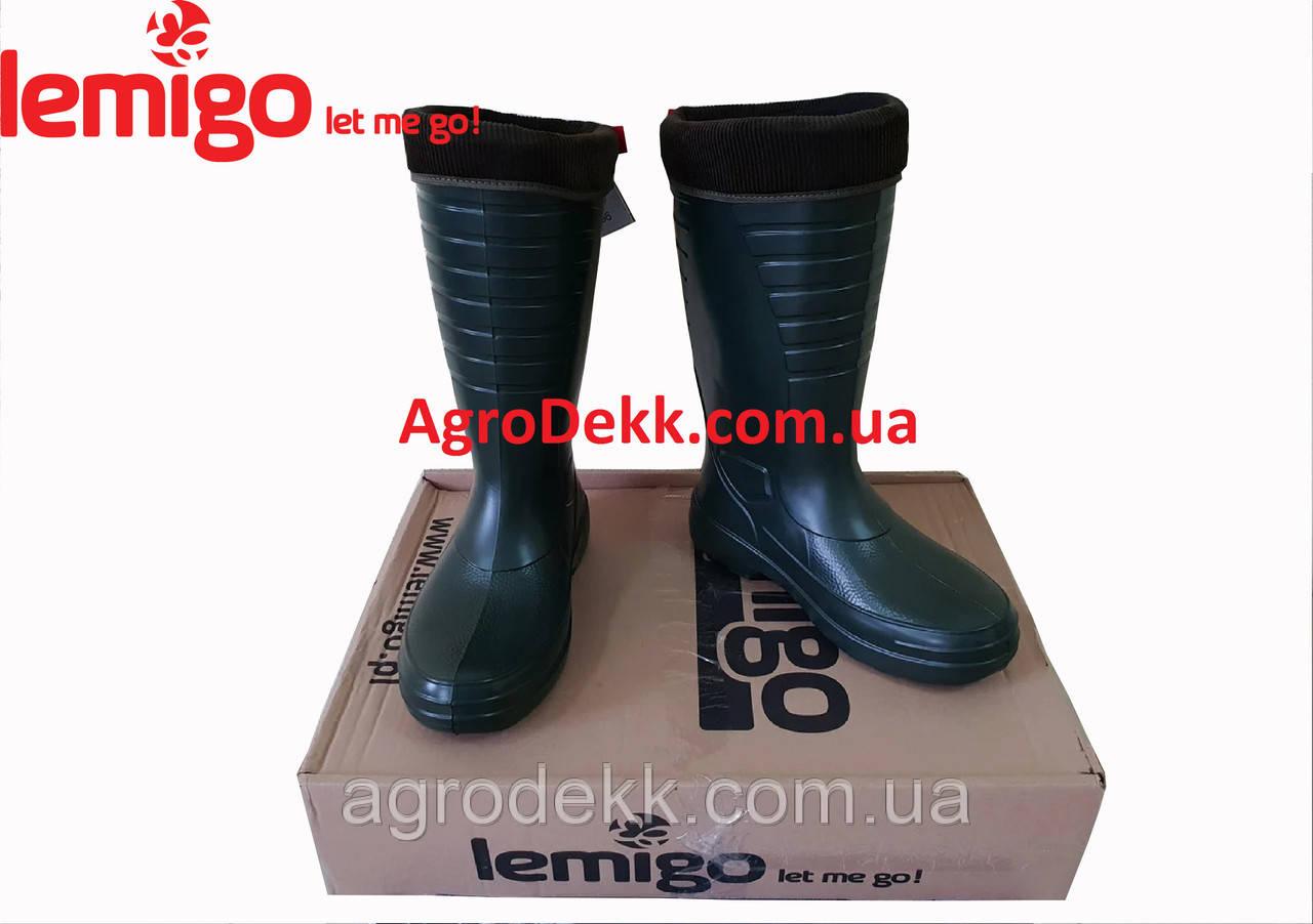 Сапоги Lemigo Grenlander 862 Цвет Зеленые