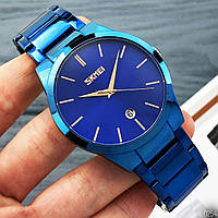 Часы мужские кварцевые Skmei 9140 Blue AB-1080-0254