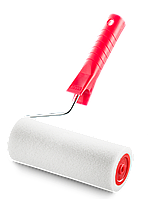 Валик с ручкой 18 см для масляных красок и эмалей по металлическим и деревянным поверхностям