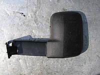 Зеркало левое б/у с удлиненным креплением на Ford Transit  1986-1990 год