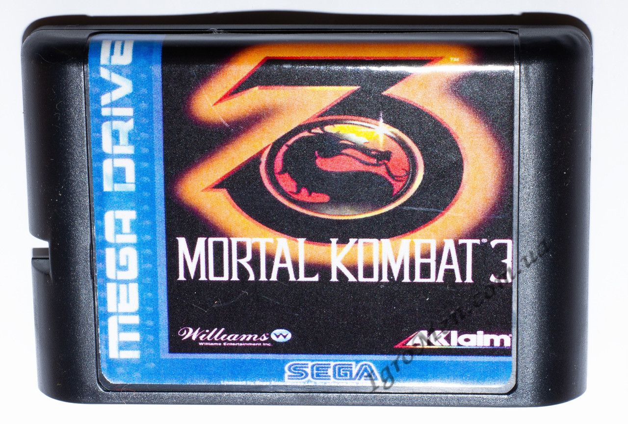 Картридж сега Mortal Kombat 3