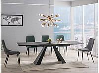 Стол стеклянный Salvadore черный